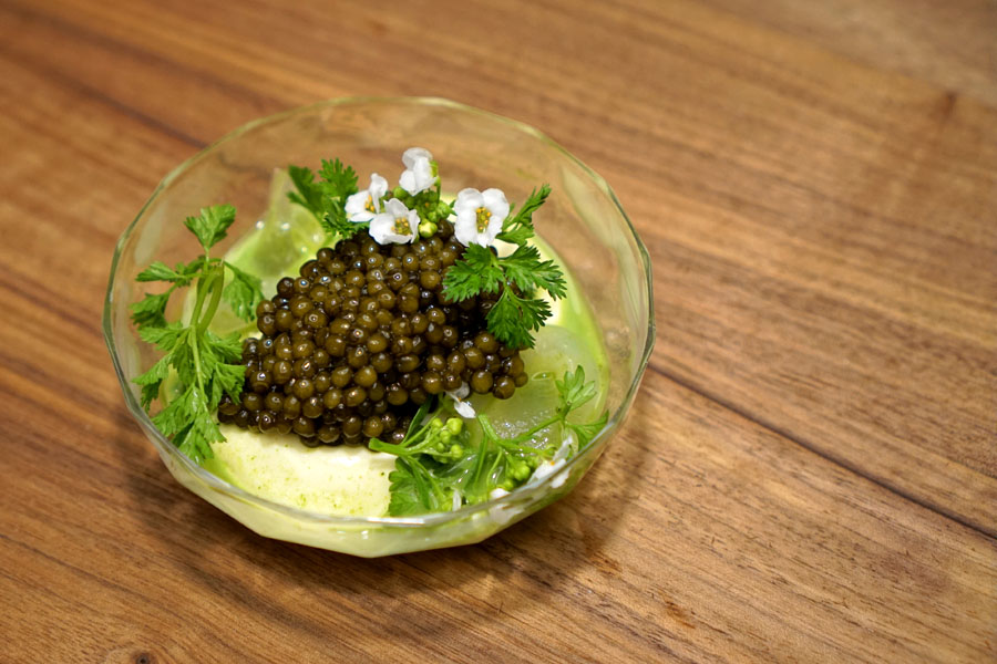 Oyster Cream (With Golden Osetra Caviar Supplement)