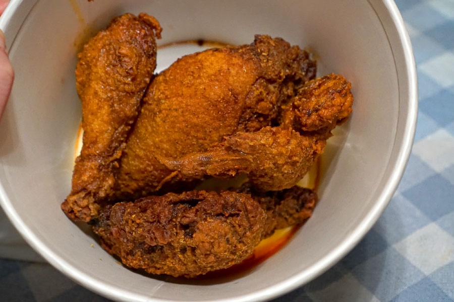 Fried 1/2 Chicken