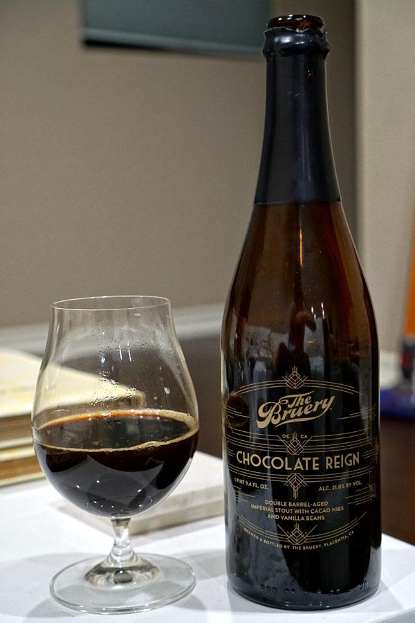 2019 The Bruery Chocolate Reign