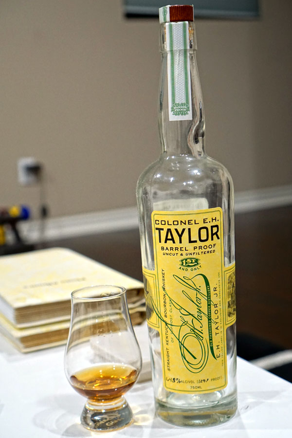 2014 Colonel E.H. Taylor, Jr. Barrel Proof