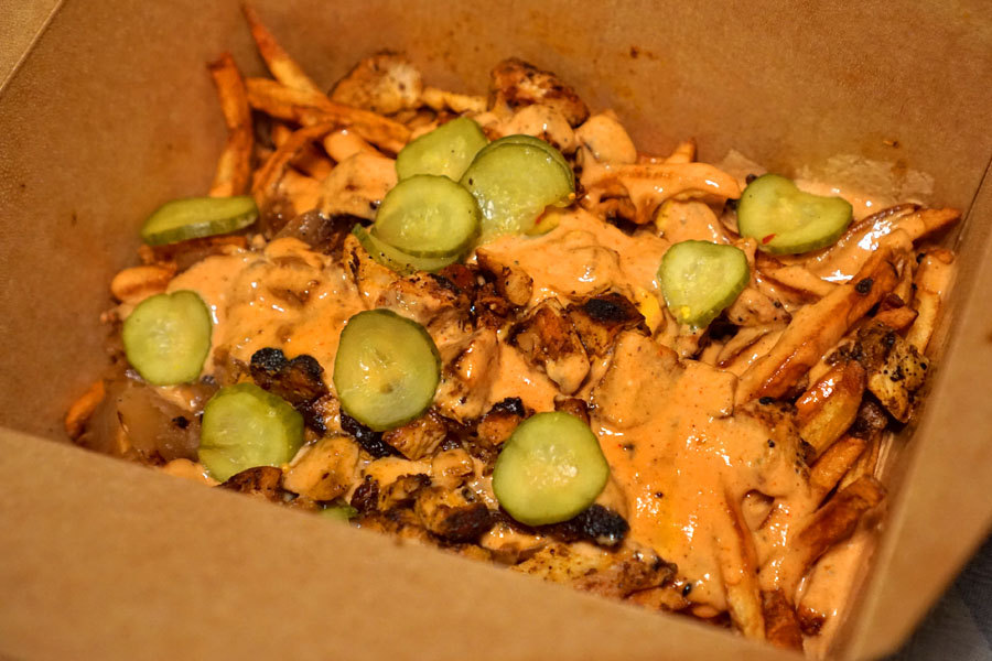 Gator Fries + Pollo