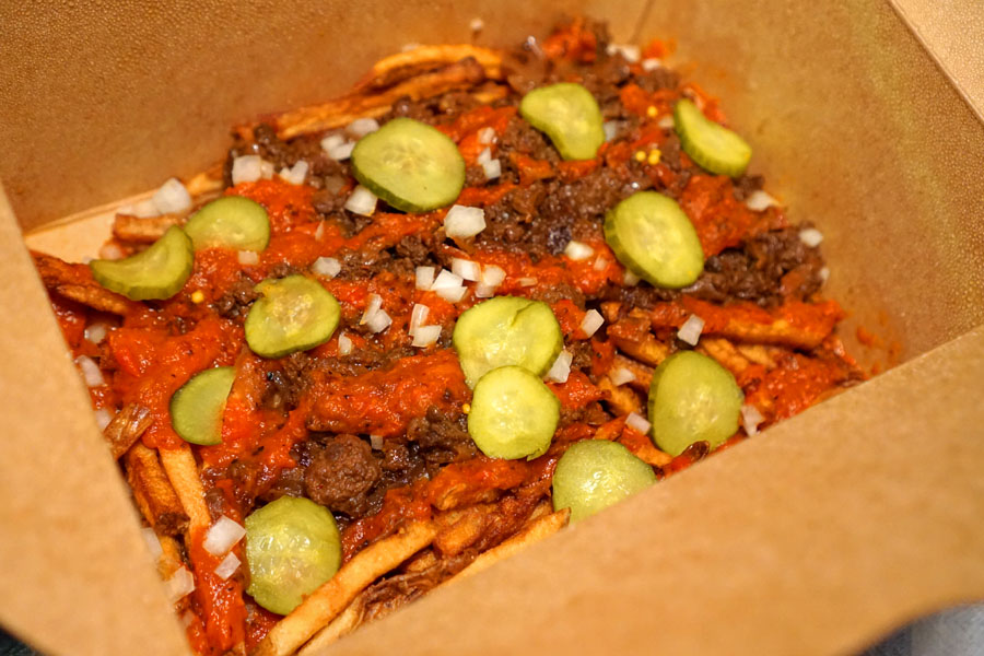 Vegan Jazzy Chili Fries