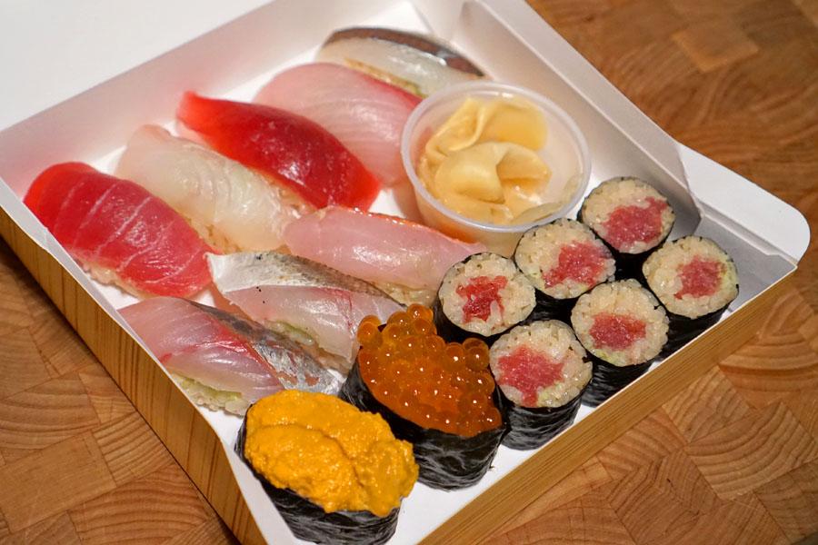 Sushi Omakase 10
