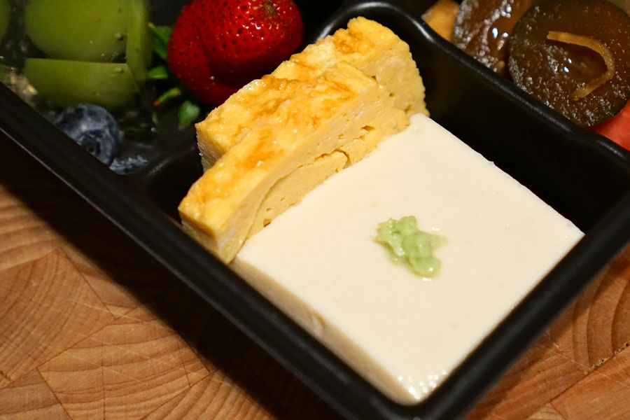 Homemade Tofu / Tamago