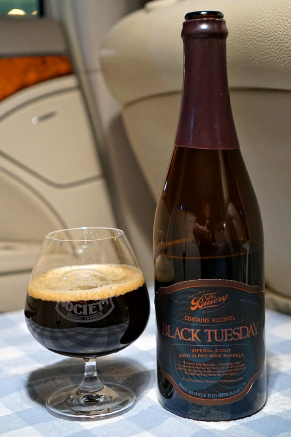 2018 The Bruery Red Wine Barrel-Aged Black Tuesday
