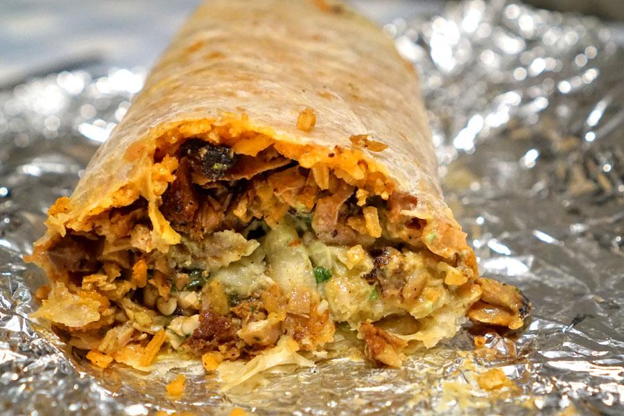 Mezquite Burrito (Inside)