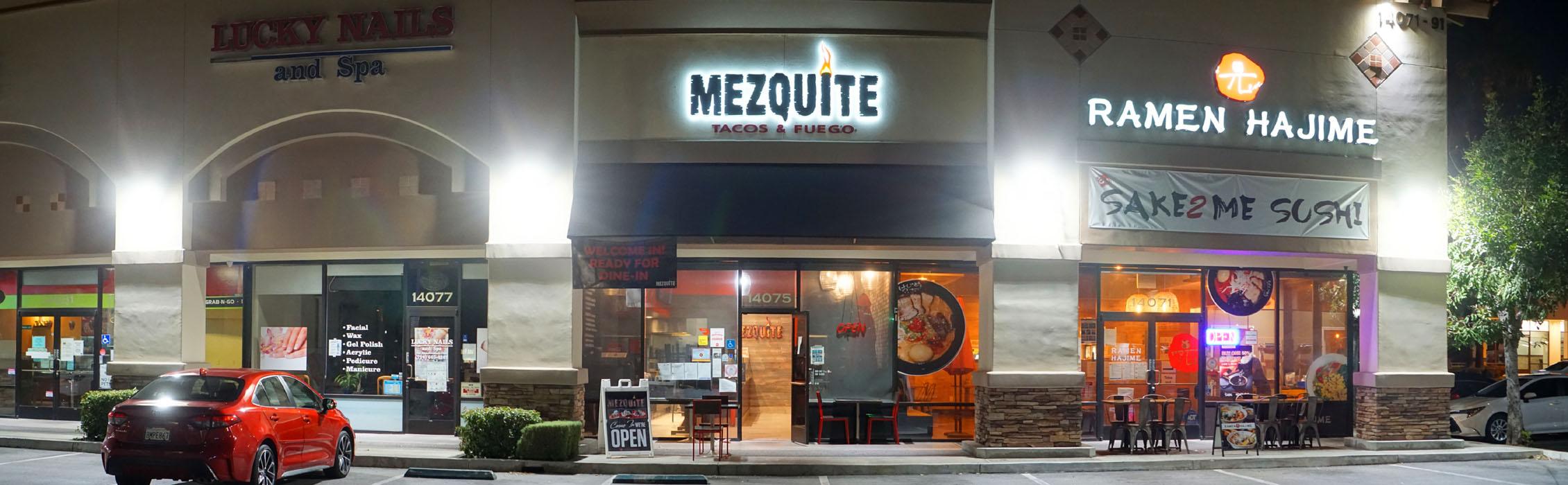 Mezquite Tacos & Fuego Exterior