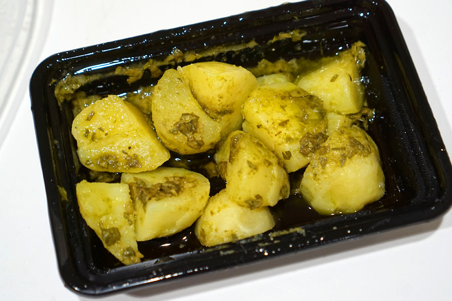 Potatoes with Mojo Verde