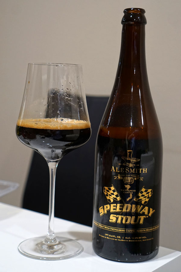 2016 AleSmith Bourbon Barrel Aged Vietnamese Coffee Speedway Stout