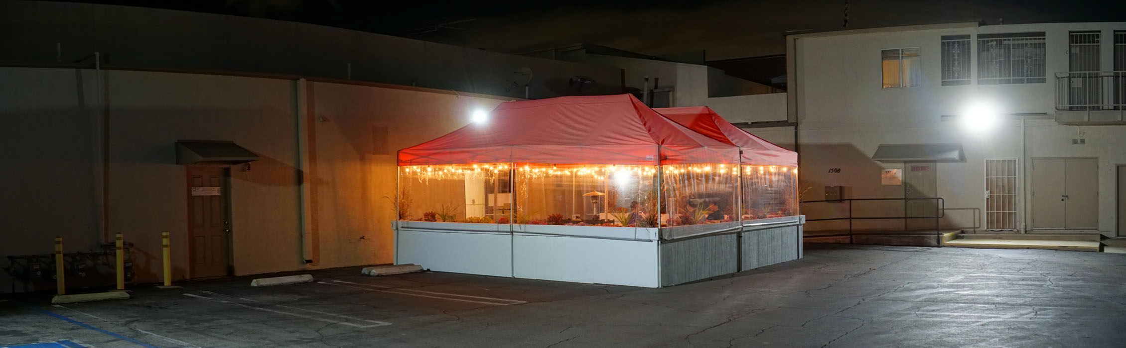 Tendon Tempura Carlos Jr Outdoor Dining Tent