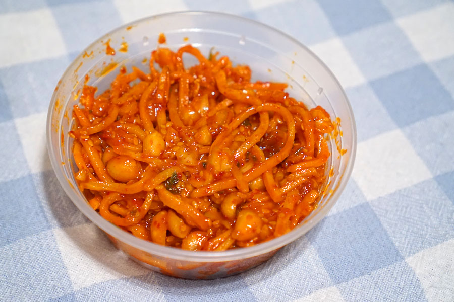 Jinmichae Bokkeum with Toasted Peanut