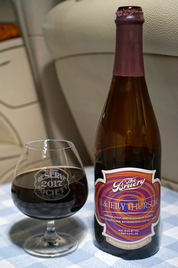2020 The Bruery PB & Jelly Thursday