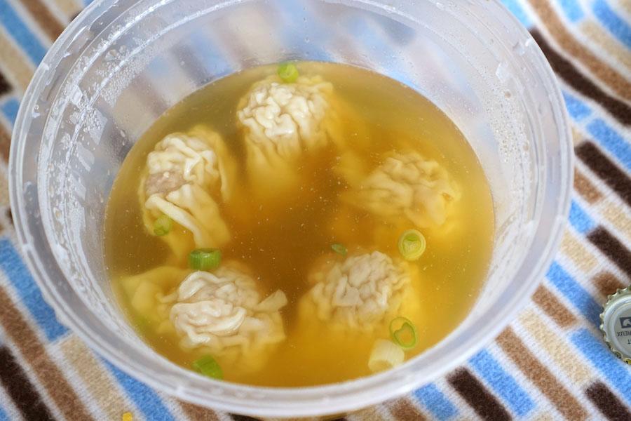 Wonton Soup Noodles (Lower Layer)