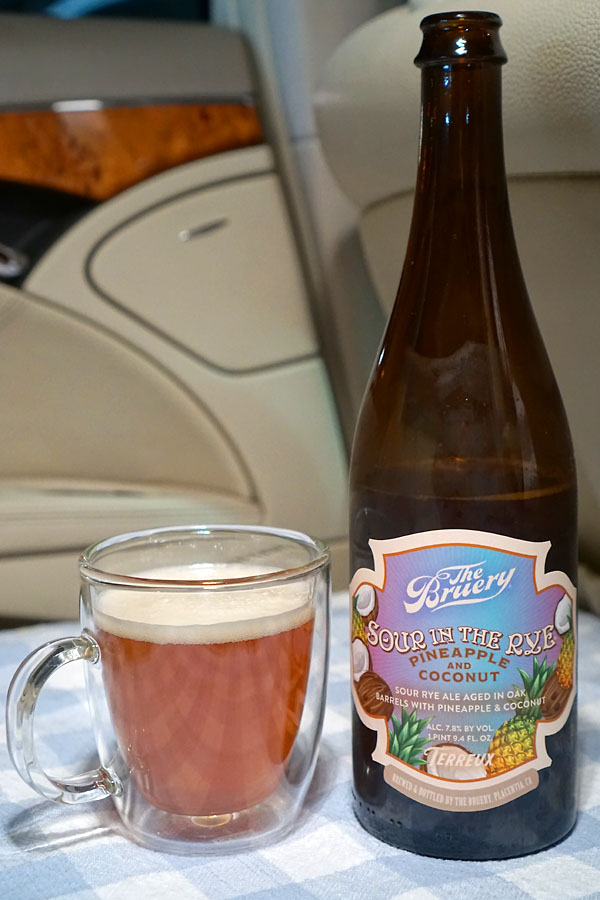 2020 The Bruery Terreux Sour in the Rye with Pineapple and Coconut