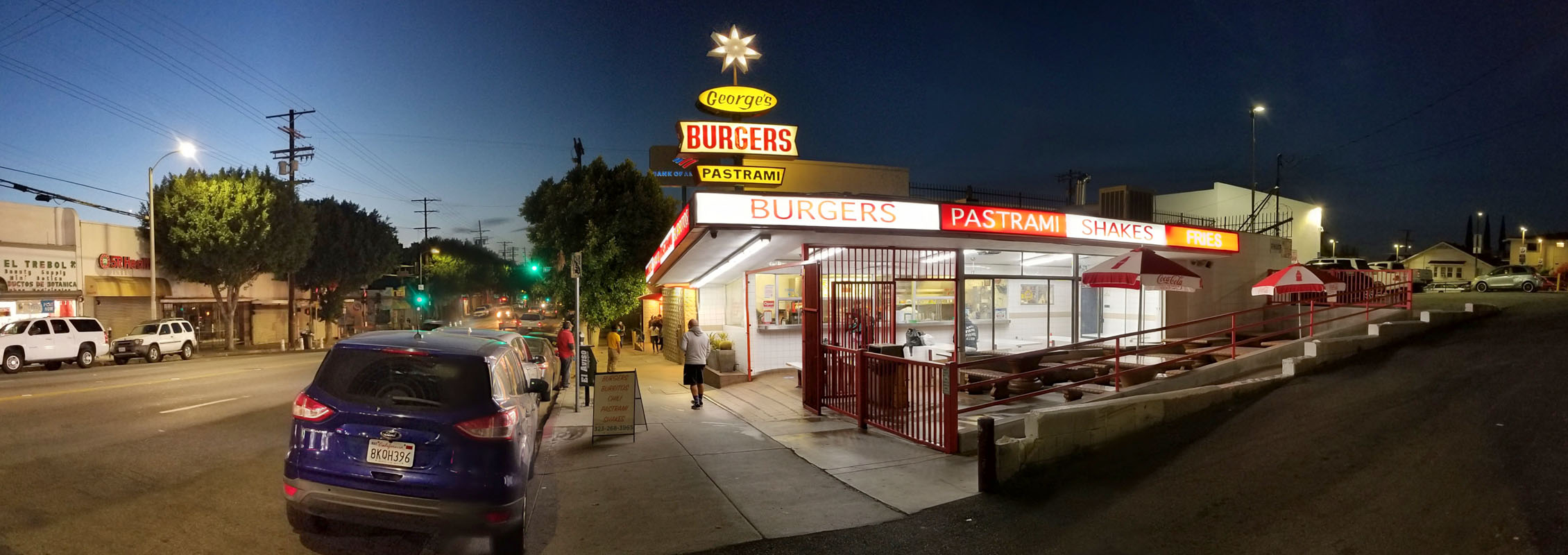 George's Burger Stand Exterior