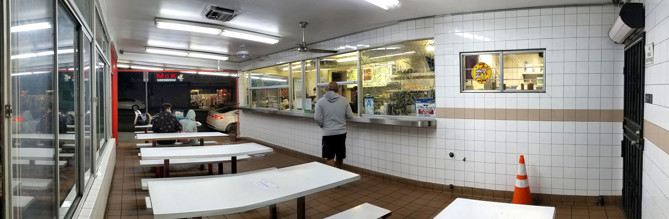 George's Burger Stand Interior