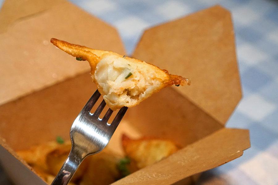 Crispy Shrimp Dumplings (Inside)