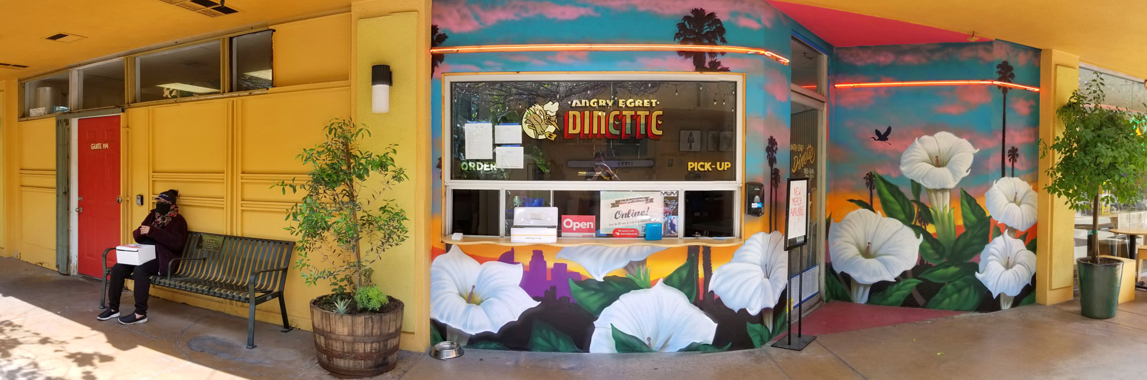 Angry Egret Dinette Exterior