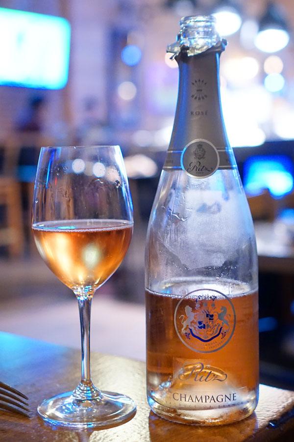 NV Barons de Rothschild Champagne Ritz Réserve Rosé