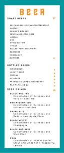 Miirch Social Beer List