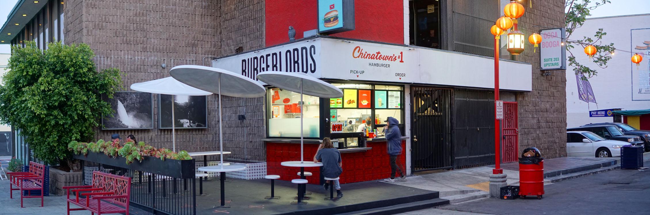 Burgerlords Exterior