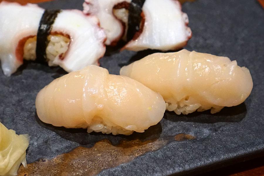 'Hotate' - Hokkaido Scallops (Hokkaido) Sushi