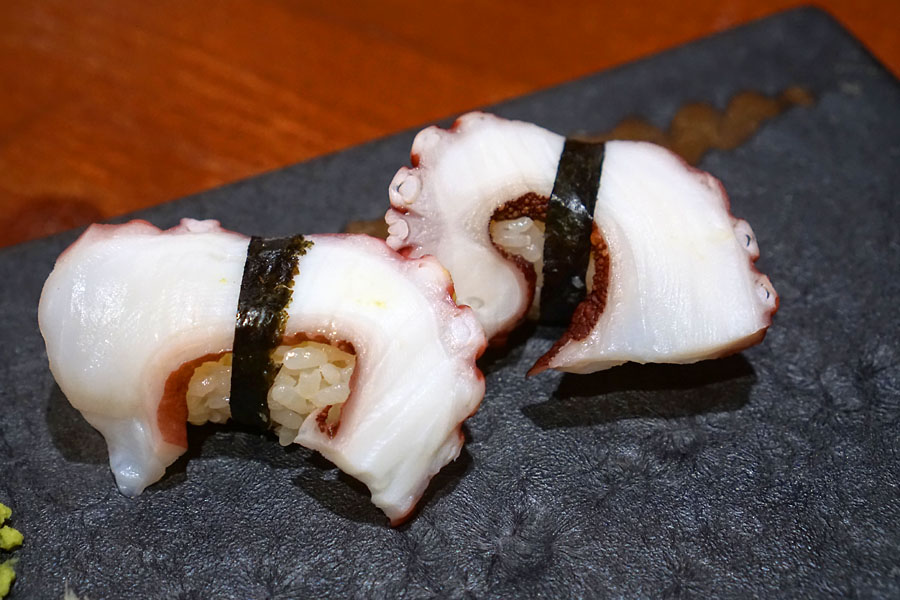 'Madako' - Boiled Hokkaido Octopus Sushi