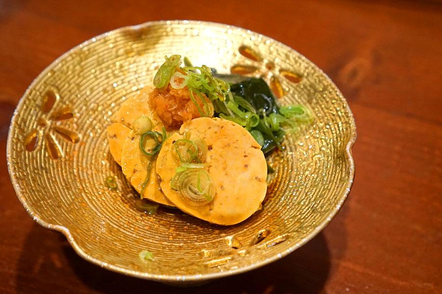 'Ankimo' Monkfish Liver With House Ponzu