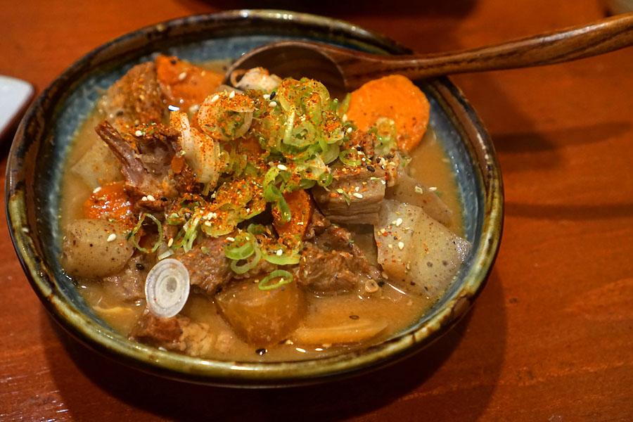 'Nikomi' - Miso Stewed Beef Tongue & Tripe