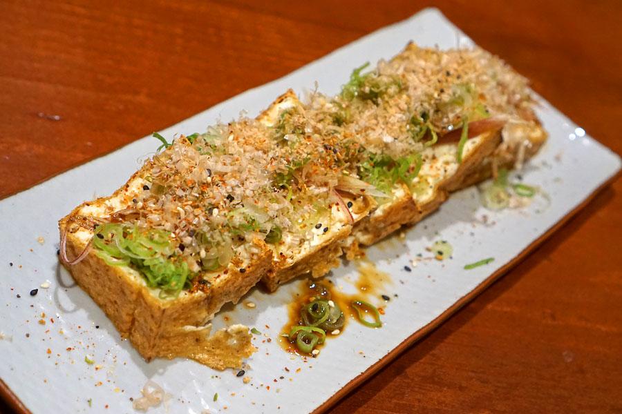 'Atsuage' - Grilled, Deep Fried Tofu