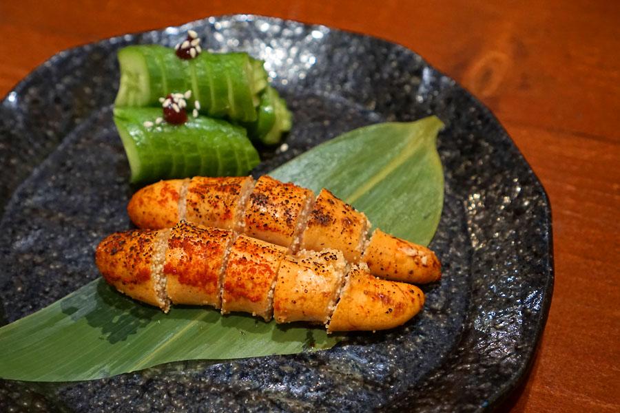 'Mentaiko' Seared Japanese Cod Roe