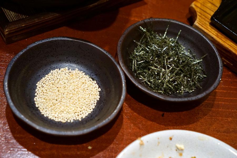 Sesame Seeds & Seaweed Strips