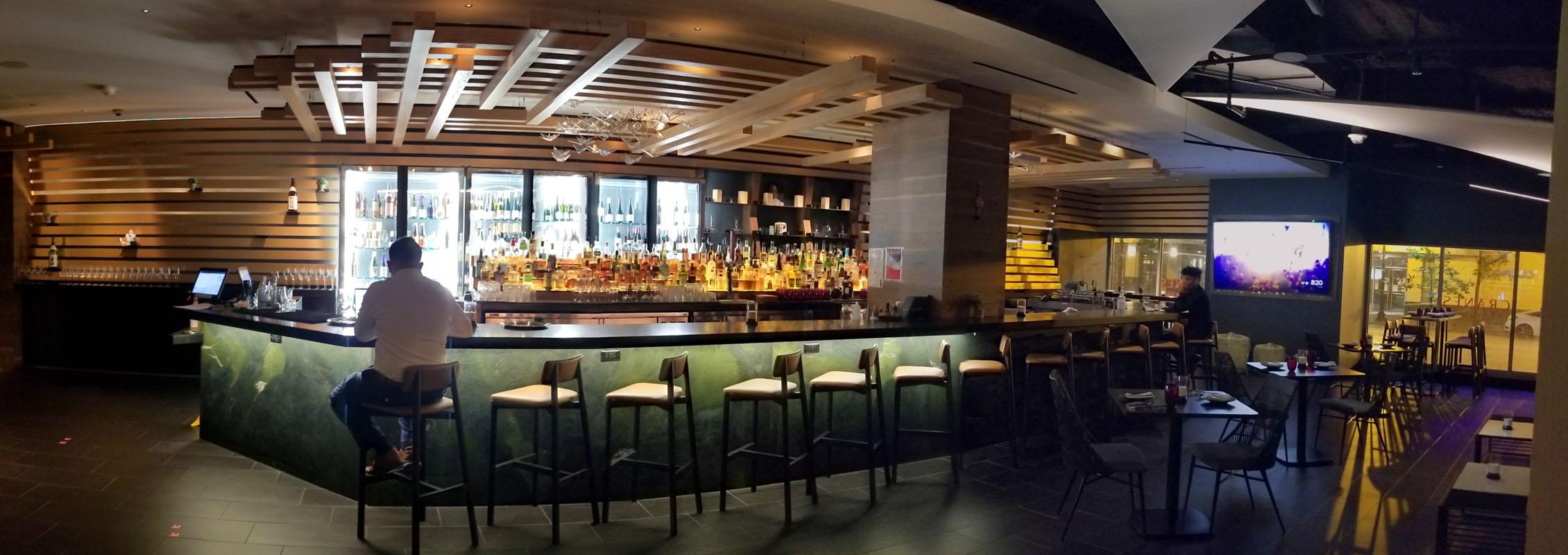 Cranes Bar Area