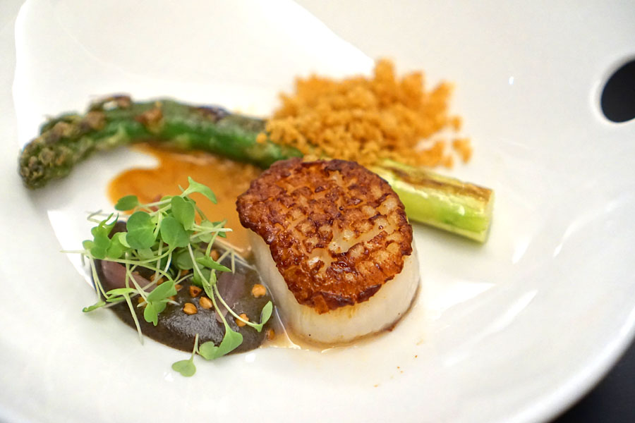 Scallop and Asparagus
