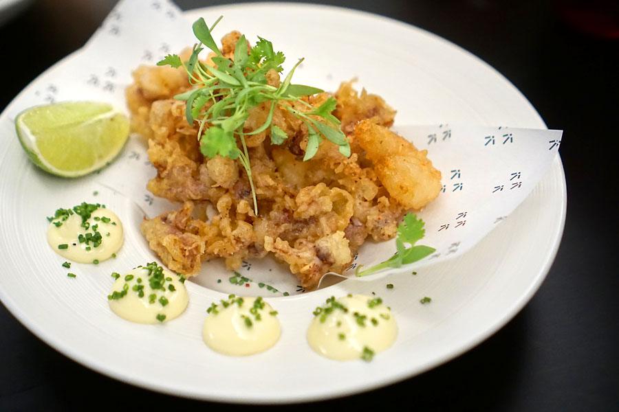 Shrimp & Squid Tempura