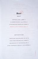 Cranes Beer List