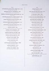 Xiquet Wine List: Red