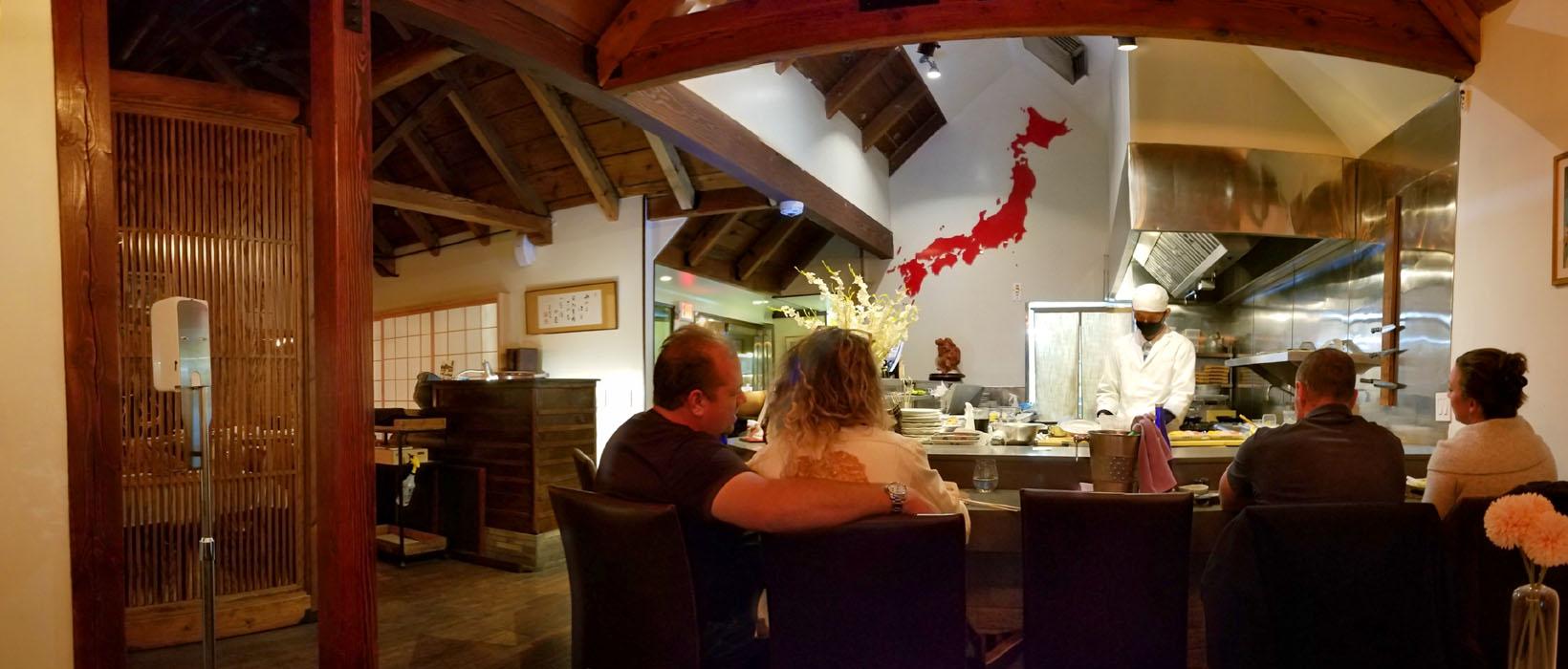 Gozen Interior: Kitchen Counter