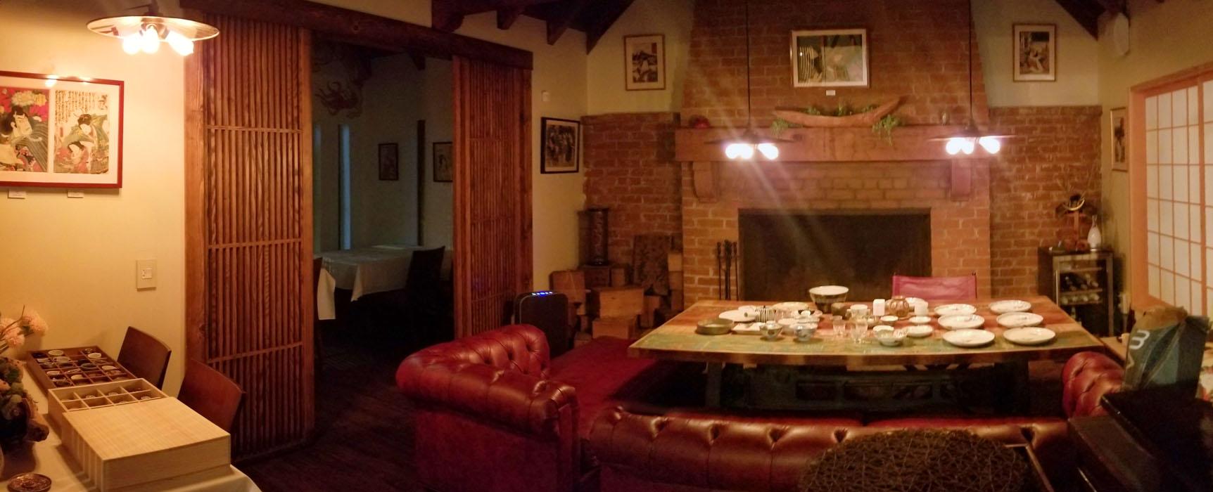 Gozen Interior: Front Dining Area