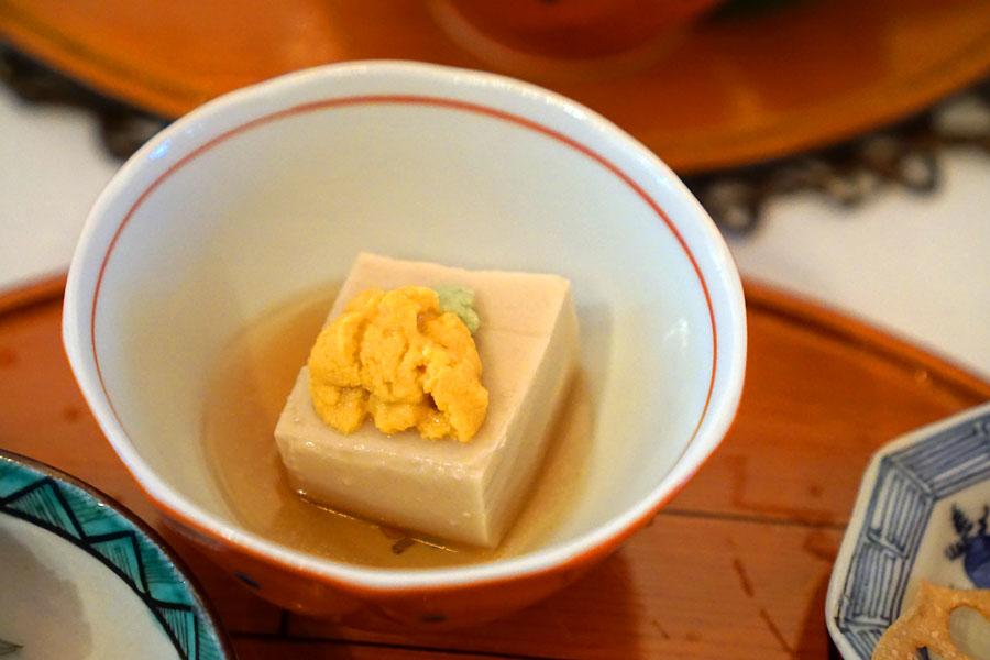 Steamed Sesame Tofu