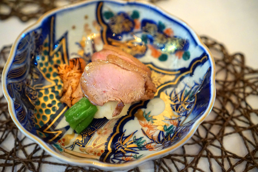 Roasted Duck with Mashed Potatoes
