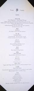 Gozen Menu: Yume (English)
