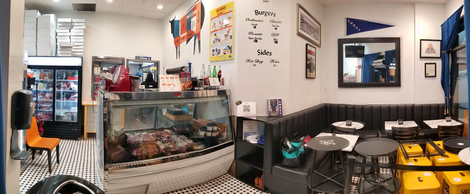 Amboy Quality Meats & Delicious Burgers Interior