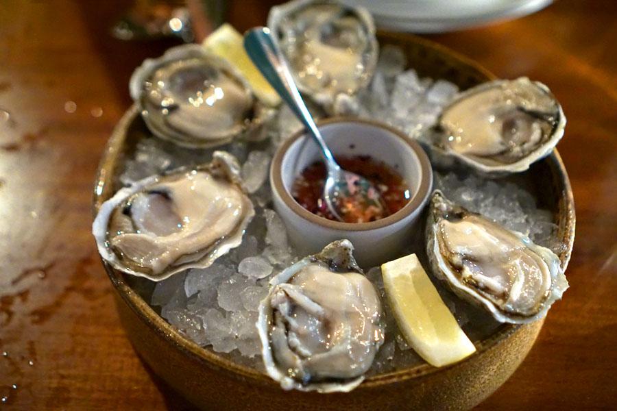 Iced Taylor Bay Kumamoto Oysters