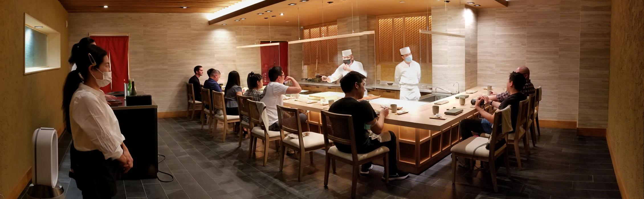 Sushi Kaneyoshi Interior
