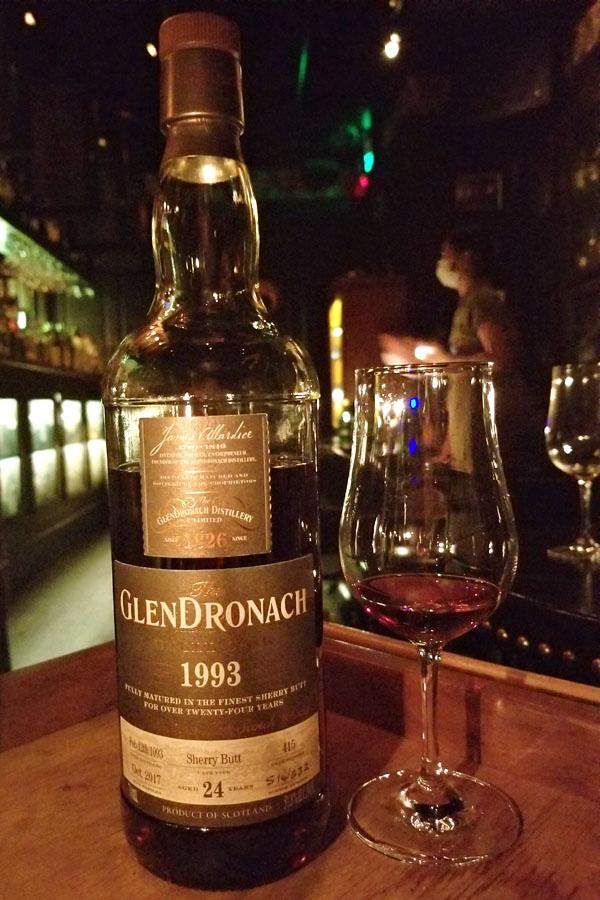 Glendronach Single Cask 1993 24 Years Old