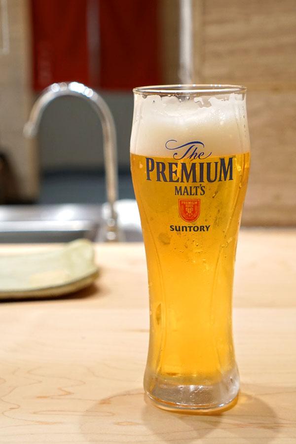 Draft Beer Suntory Premium Malt's