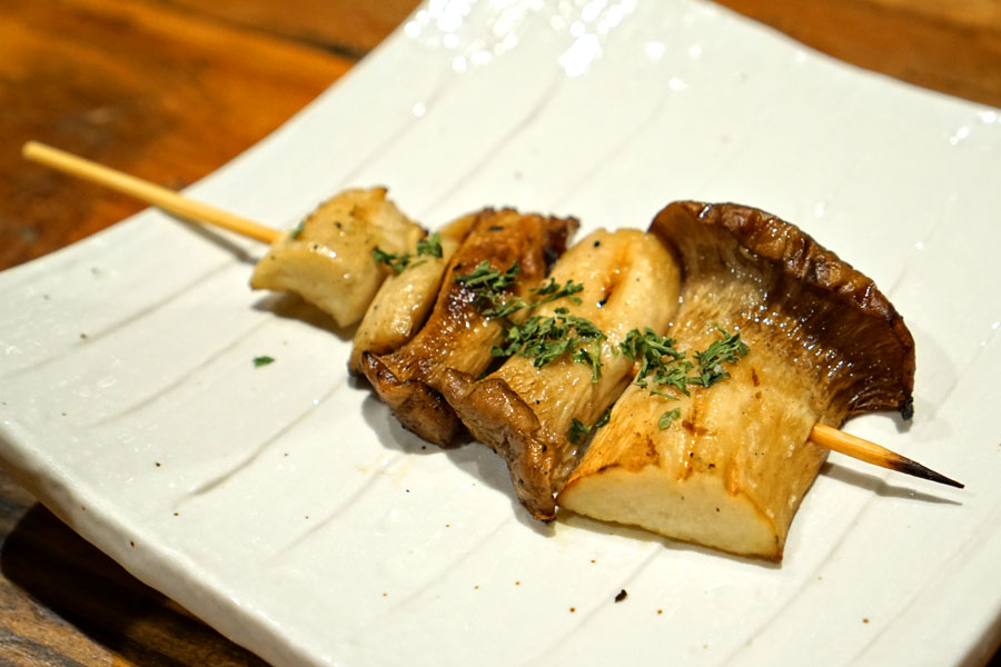 トリュフ香るエリンギ - Oyster Mushroom w/ Truffle Oil