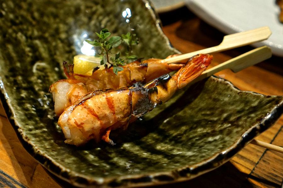 エビ焼き - Grilled Shrimp