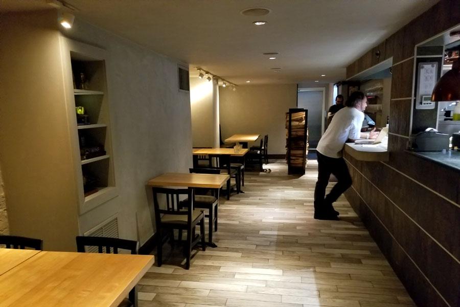 Vernick Food & Wine Rear Dining Room